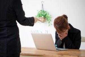 仕事で怒られる(泣)。パターンを把握してストレスを減らそう